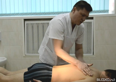 Массаж лечение грыж позвоночник 34