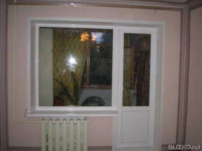 Балконный блок 2100*2100*800 rehau(рехау) от компании алькор.