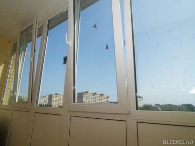 Остекление балкона 6 м в казани - на портале blizko.
