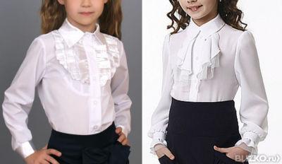 Школьные Блузки Для Девочек Купить В Спб