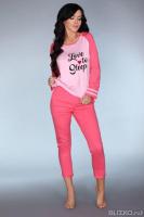 93662dc5e4df6 Мягкая пижамка Malblea с длинным рукавом, розовый, (S-M), Livia Corsetti